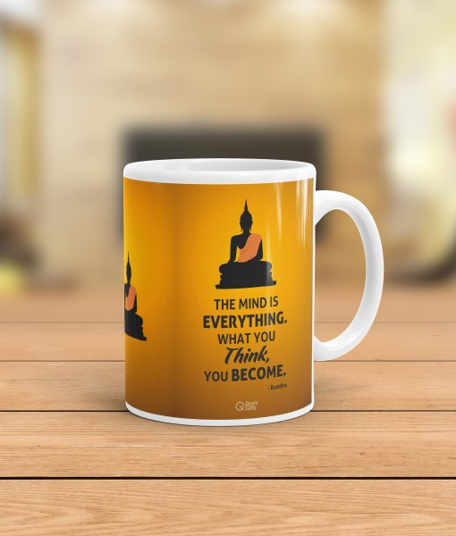 Inspirational Coffee Mug Quote Mug Buddha Quote