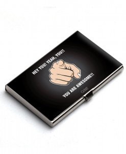 You are awesome Card Holder