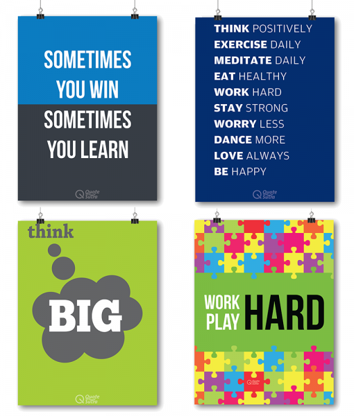Inspirational Posters for Office