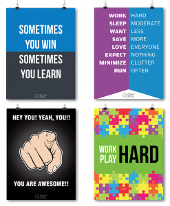 Poster set Combo to inspire & motivate you