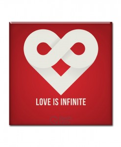 Love is infinite Magnet