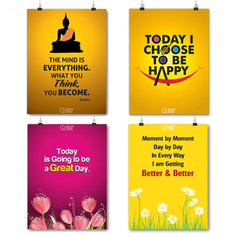 Positive affirmation Posters Wall Posters
