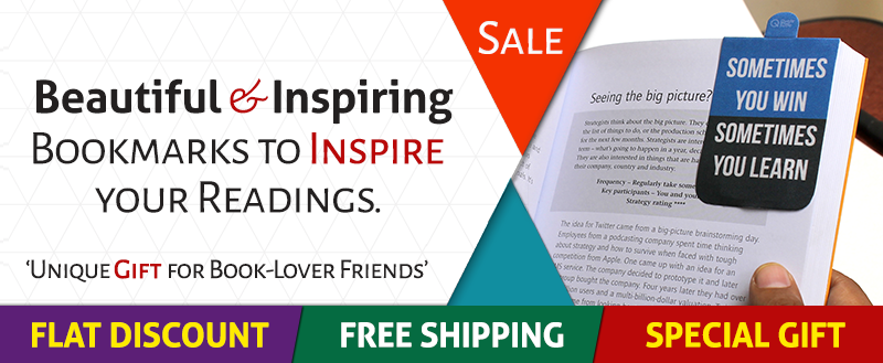 Magnetic Quote Bookmarks