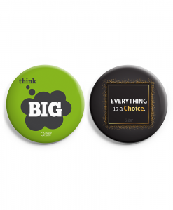 Set of 2 Badge Combo