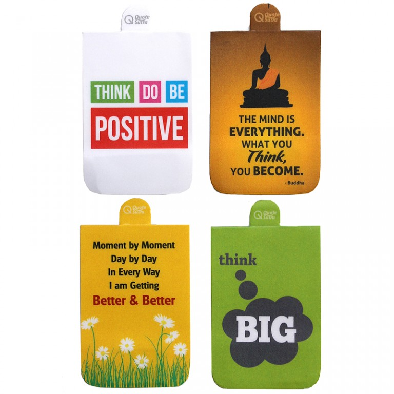 Magnetic Bookmarks quote bookmarks