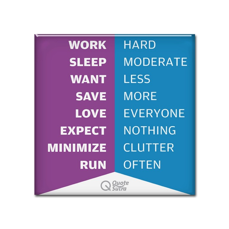Life Sutra 2 Magnet